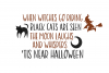 Halloween Moon - A Halloween Font with Extras! example image 2