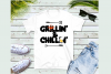 Grillin' & Chillin'- A Summer SVG example image 2