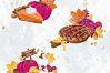 Sweets Cake Pumpkin Pie Fall Autumn Clip Art example image 7