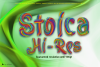 Stoica - Bitmat SVG Color Font example image 1