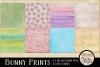 Easter Digital Scrapbook Kit - Bunny Prints Spring Clipart example image 3