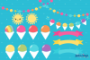 The Massive Snow Cone Clipart Pack example image 4