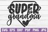 Super Grandma SVG Cut file | commercial use example image 1