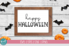 Happy Halloween SVG File example image 3
