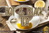 Hot and Black Tea example image 1