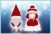 Mr and Mrs Gnome SVG Dxf Eps Png PDF Files for Cricut example image 3
