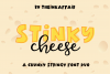 Stinky Cheese Font Duo example image 1