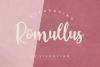 Romullus // Playful Script Font example image 1