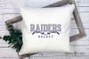 Raider, Hockey puck, Sports, Team logo, PRINT, CUT & DESIGN example image 3
