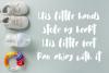 Cuties Magenta - Playful Font - example image 4