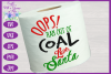 Christmas Toilet Paper SVG - Oops! Ran Out of Coal Design example image 2