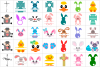 Easter Bundle SVG / DXF / EPS / PNG files example image 2