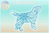 Golden Retriever Mandala Zentangle Bundle SVG Eps Png PDF example image 6