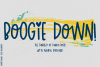 Boogie Down! Handlettered Sans Font example image 1