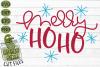 Merry Ho Ho Christmas SVG File example image 2