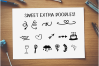 Buttercream Frosting Sans Serif Font 199 Glyphs PLUS EXTRAS! example image 3