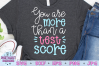 You are More than a Test Score SVG, Teacher SVG example image 1