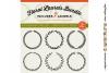FLORAL MEGA BUNDLE 30 wreath, laurel, heart leaf frames SVG example image 5