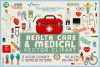 Health Care & Medical Vector Clipart & Seamless Patterns example image 1