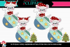 Christmas Mice Ornaments 1 example image 1