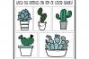 Fancactus - A Cactus & Succulent Doodle Font example image 10