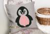 Breast cancer survivor, Penguin SVG / DXF / EPS / PNG files example image 4