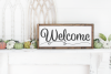 Welcome - Home - Family - Bless - Doormat Bundle SVG example image 4