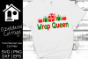 Wrap Queen 2 SVG | PNG | EPS | DXF example image 1