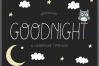 Goodnight Handmade Font example image 1