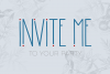 Morning Rain Font with Hearts example image 2