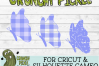 Plaid & Grunge Butterfly 2 SVG Cut File example image 4