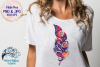 The Boho Floral Clipart Bundle | PNG and JPG | Sublimation example image 2