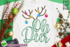 Oh Deer Christmas SVG File example image 1