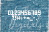 Grunge Font, Distressed Font, Sport Font, Athletic font example image 3