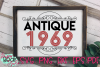 Antique 1950 - 1989 - An Antique Styled Cut File example image 2