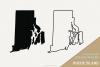 Rhode Island Vector / Clip Art example image 1