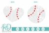 Grunge Baseball - Baseball Heart SVG, DXF, AI, EPS, PNG, JPG example image 1