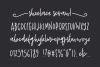 Shoelace Scrawl, a handwriting font example image 2