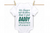 Daddy svg, daddy and baby, daddys girl svg, daddys boy svg example image 1