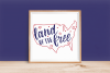 Land of the Free - Forth of July - Patriotic SVG Cut File example image 2