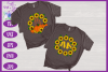 Sunflower Monogram SVG | Autumn SVG | Fall SVG | Monogram example image 2
