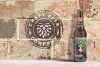 Brick Backgrounds Beer Mockup example image 3