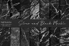 Black and Silver Marble Textures example image 1