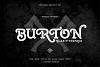 Burton Slab Typeface & Bonus example image 1