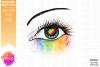 Pride Heart Awareness Eye - Printable Design example image 2