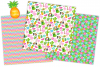 Tropical digital papers, Flamingo digital papers, Cactus example image 5