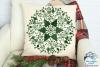 Christmas Mandala SVG | Christmas SVG Cut File example image 2