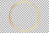 Elegant wedding geometric golden frames, lineal frames png example image 18