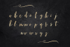 Gold alphabet clipart, Mettalic letters, Wedding fonts example image 2