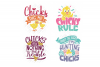 Easter Chick SVG Monogram Quotes in SVG, DXF, PNG, EPS, JPEG example image 5